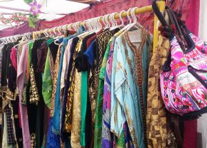 Vivid Colours, Boho fashion from fashion designer Porobello Girl. Every Saturday at Portobello Green Market