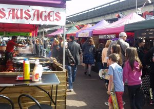 World Street Food Market at Portobello Green Market