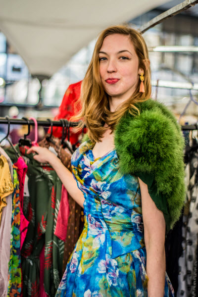 Photo shootSpring 2018 Trends at Portobello Green Market