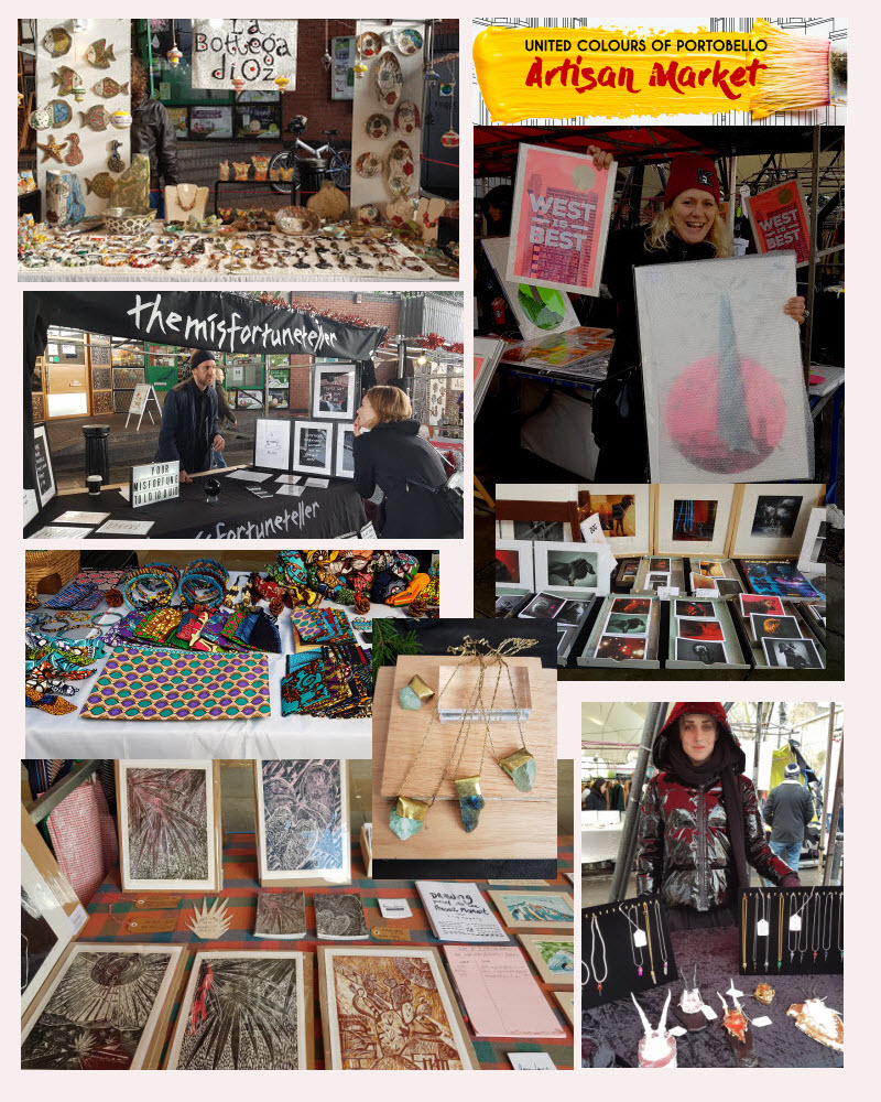 United Colours of Portobello Artisan Market launching Saturday 1st June 2019