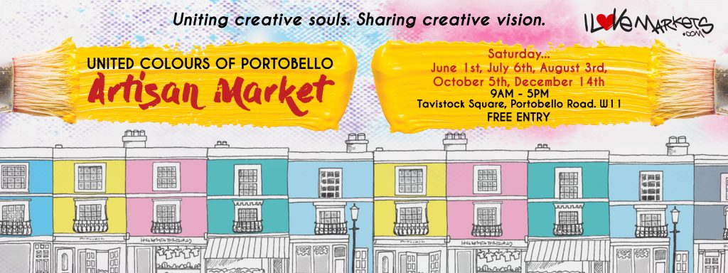 Portbello Artisan market launches on June 1st 2019 in the heart of Portobello