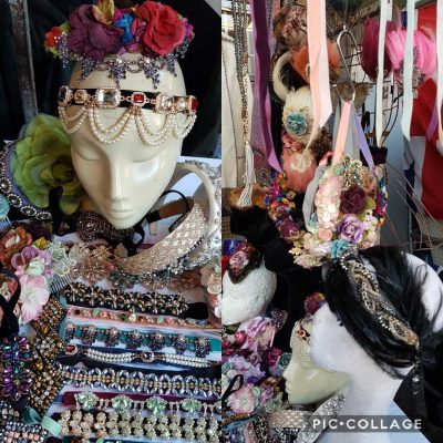 Fashionable headwear Portobello Market